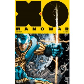 X-O Manowar (2017) #8 VF/NM Adam Pollina Cover Valiant