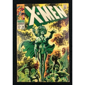 X-Men (1963) #50 VG/FN (5.0) 1st full app Polaris & 1st cover appearance