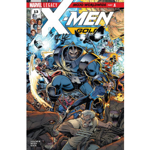 "X-men Gold #'s 13 14 15 + X-men Blue #s 13 14 Near Complete ""Mojo Worldwide"" Set"