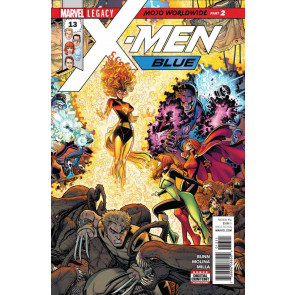 X-men Gold #'s 13 14 15 + X-men Blue #s 13 14 Near Complete