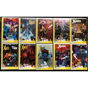 X-Men Battle of the Atom (2013) VF/NM or better complete 10 part set