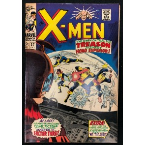 X-Men (1963) #37 FN+ (6.5) 1st Appearance The Changeling