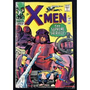 X-Men (1963) #16 GD/VG (3.0) Sentinels Cover