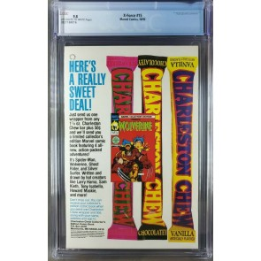 X-Force #15 (1992) CGC 9.8 NM/M 4th app Deadpool Vs Cable Cover (3821184016)|