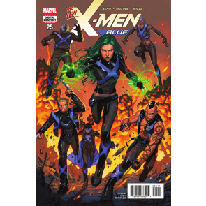 "X-men Blue (2017) #'s 23 24 25 26 27 Near Complete ""Cry Havok"" VF/NM Set"