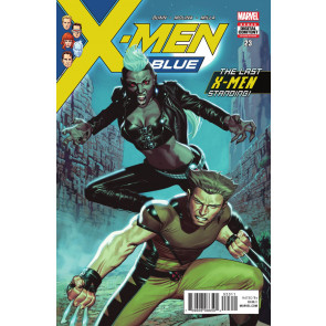 X-men Blue (2017) #'s 23 24 25 26 27 Near Complete