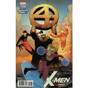 X-men Red (2018) #7 VF/NM (9.0) Fantastic Four Variant Cover