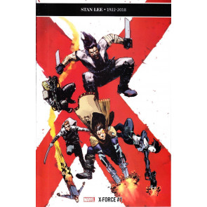 X-Force (2018) #1 VF/NM Zaffino 1:10 Variant Cover