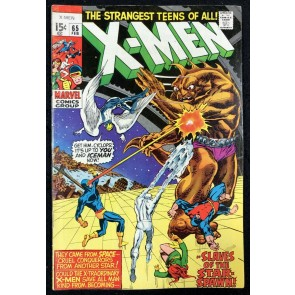 X-Men (1963) #65 FN+ (6.5) return of Professor X Neal Adams cover & art