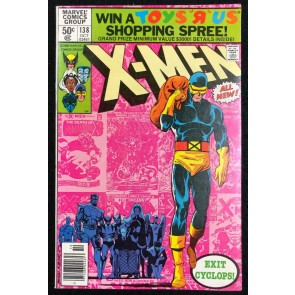 X-Men (1963) #138 VF (8.0) Exit Cyclops John Byrne Cover & Art