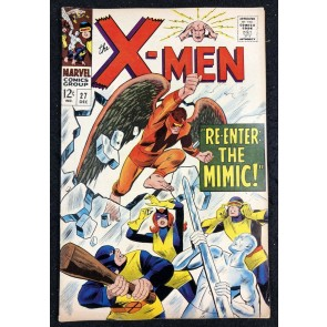 X-Men (1963) #27 FN/VF (7.0) Mimic cover and appearance