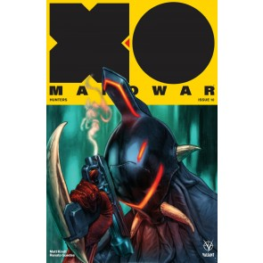 X-O Manowar (2017) #10 VF/NM Lewis LaRosa Cover Valiant