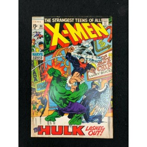 X-Men (1963) #66 VG/FN (5.0) Incredible Hulk