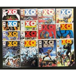 X-O Manowar (1992) #'s 12 13 14 15 16 17 18 19 20 21 22 23 24 25 NM Run Valiant