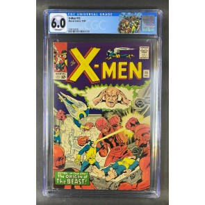 X-Men (1963) #15 CGC Graded 6.0 White Pages 1st App Master Mold (2096160008)