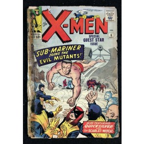 X-Men (1963) #6 PR (0.5) Sub-Mariner joins The Evil Mutants