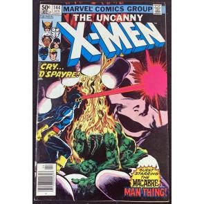 X-Men (1963) #144 FN (6.0) Man-Thing Cover App