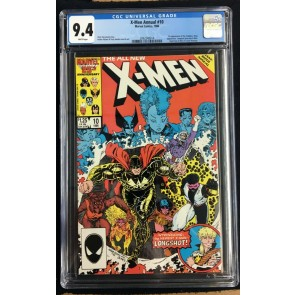 X-Men Annual (1986) #10 CGC 9.4 1st app X-Babies Longshot joins (2062548014)