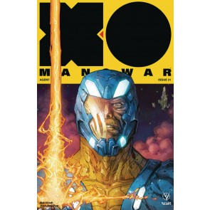 X-O Manowar (2017) #21 VF/NM Kenneth Rocafort Cover Valiant