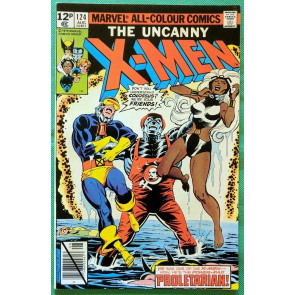 X-Men (1963) #124 VF- (7.5) UK price variant