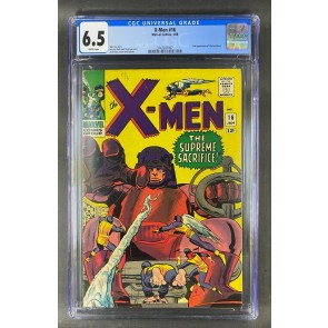 X-Men (1963) #16 CGC Graded 6.5 White Pages 3rd App Sentinels (3747207007)