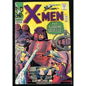 X-Men (1963) #16 VG (4.0) vs Sentinels