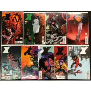 X-23 (2010) #1-21 NM (9.4) Complete Set plus Daken #8 & 9 23 comics Total