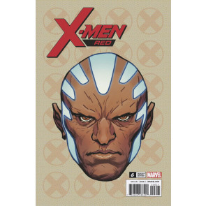 X-men Red (2018) #6 VF/NM Legacy Headshot Variant Cover (Gentle)