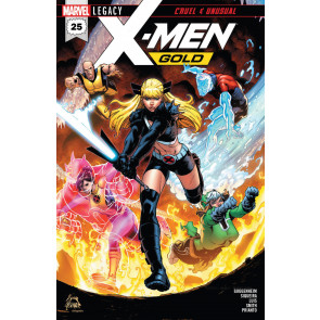 "X-men Gold (2017) #'s 21 22 23 24 25 Complete ""Cruel and Unusual"" VF/NM Set"