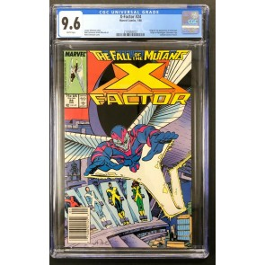 X-Factor (1986) #24 CGC 9.6 Barcode White Pages 1st app Archangel (2128263022)