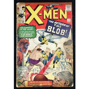 X-Men (1963) #7 FR (1.0) Blob Quicksilver Scarlet Witch Magneto appearances
