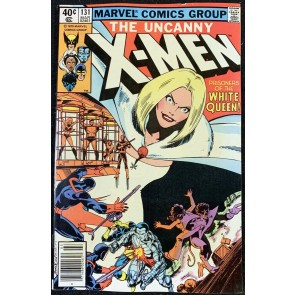X-Men (1963) #131 FN+ (6.5) 1st White Queen Cover