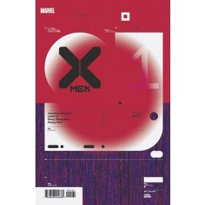 X-Men (2019) #1 VF/NM Tom Muller 1:10 Design Variant Cover