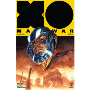 X-O Manowar (2017) #18 VF/NM Lewis LaRosa Cover Valiant