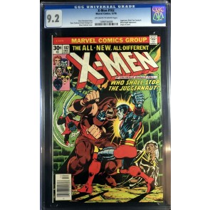 X-Men (1963) #102 CGC 9.2 origin Storm classic Juggernaut battle (1099756009)