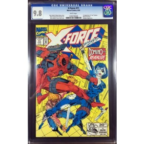 X-Force (1991) #11 CGC 9.8 1st app Domino early Deadpool (1099799008)