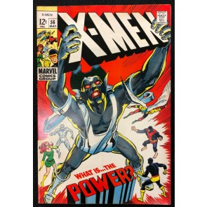 X-Men (1963) #56 FN (6.0) 1st Appearance The Living Monolith Neal Adams Art