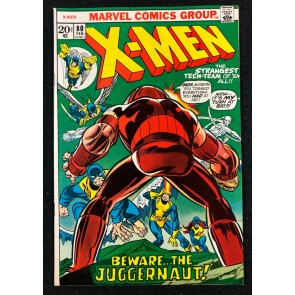 X-Men (1963) #80 NM- (9.2) New Juggernaut Cover