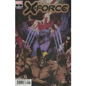 X-Force (2019) #2 VF/NM Jorge Zaffino 1:25 Variant Cover