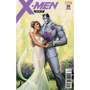 X-Men Gold (2017) #30 VF/NM (9.0) Wedding issue J. Scott Campbell variant cover
