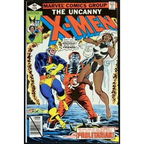 X-Men (1963) #124 NM (9.4) Colossus Becomes Proletrarian