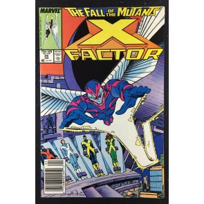 X-factor (1986) #24 VF/NM (9.0) 1st full app Archangel Fall of the Mutants