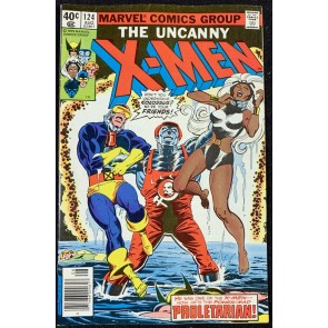 X-Men (1963) #124 VF- (7.5) Colossus Becomes Proletrarian
