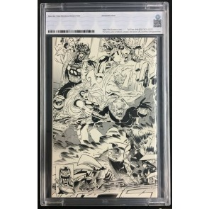 X-Men (1991) #25 CBCS 9.8 Black and White retailer incentive variant