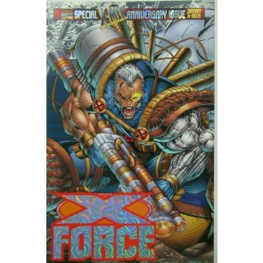 X-Force (1991) #50 VF/NM-NM Rob Liefeld Wraparound Variant Cover !