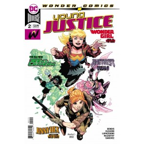 Young Justice (2019) #2 NM (9.4) regular cover A Wonder Comics