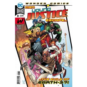 Young Justice (2019) #8 VF/NM John Timms Cover Wonder Comics