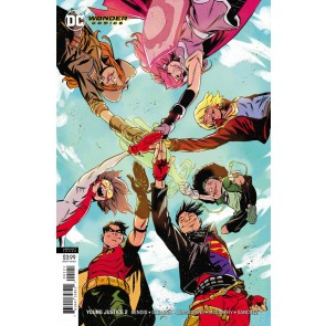 Young Justice (2019) #2 NM (9.4) Sanford Greene variant cover B Wonder Comics
