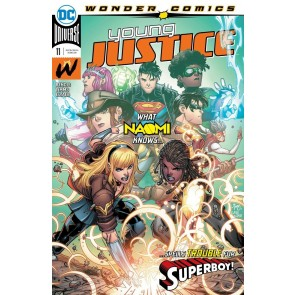 Young Justice (2019) #11 VF/NM John Timms Cover Wonder Comics