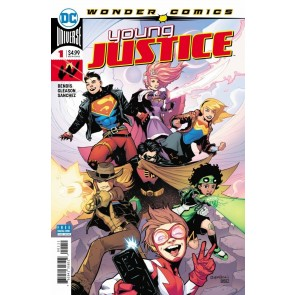 Young Justice (2019) #1 VF/NM Patrick Gleason Cover Wonder Comics